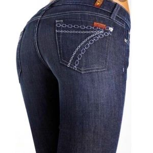 7 For All Mankind Dojo Crystal Jeans
